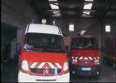 Manoeuvre fumée des sapeurs pompiers de Loupian