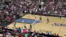 NBA Anthony Johnson sets up Mickael Pietrus with pretty ally
