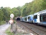 un train ter Région Rhône Alpes en dection de l'arbresle à lozanne le  1er/05/2009