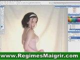 Retouche : femme retouchée par Photoshop pour maigrir
