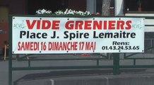 Vincennes est. Vide Greniers les 16 et 17 Mai 2009.