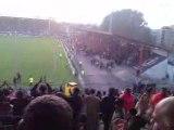 Valenciennes - Lyon 02/05/2009 tribune Pouille