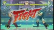 Street Fighter 4 Gameplay Xbox 360