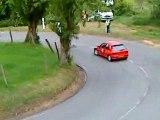 Course de cote Andelys 2009 fin 2ème montée