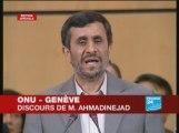 Discours de Mahmoud Ahmadinejad durbanII geneve-ONU