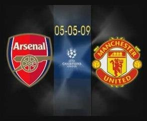 Arsenal vs Manchester United 3-1 All Goals (5-5-2009)