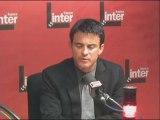 France Inter - Manuel Valls