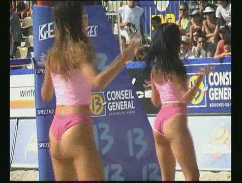 Danseuses pour le Beach Volley