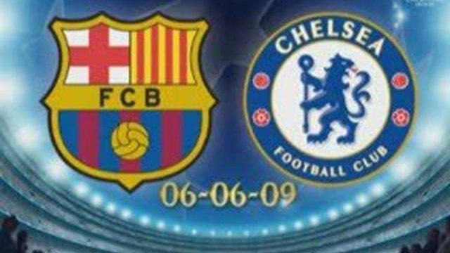 Chelsea vs Barcelona 1-1 Champions League 6th May 2009