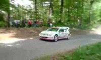 Rallye ALSACE VOSGES 2009 Patrick Henry en glisse !!!