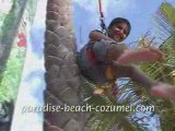 Cozumel tours Paradise Beach. Cozumel bars, beaches