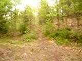 Arrivée de la descente à Momo sur ND des bois