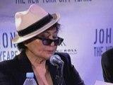 Yoko Ono opens new John Lennon exhibition in New York