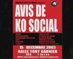 AviS de Ko SoCial - LYON Décembre 2003 - Zarma