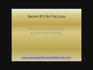 Losing Weight Plan