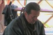Francis Lalanne - conférence de presse sous la yourte
