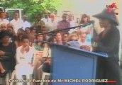 Adieu Funérailles Michel Rodriguez Lisa Canal 10 Télévision