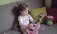 guitariste en herbe