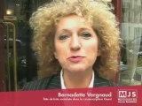 Bernadette Vergnaud, tête de liste socialiste dans l'Ouest