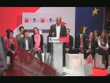 Meeting du Parti Socialiste au Cirque d'Hiver