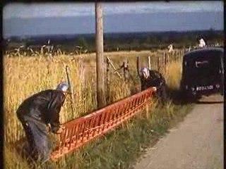 Ceyzériat - Manoeuvre des pompier 1959