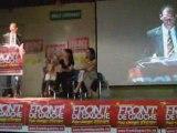 Meeting du Front de Gauche à Valence (Drôme)