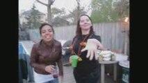 Crazy girls dancing to poker face
