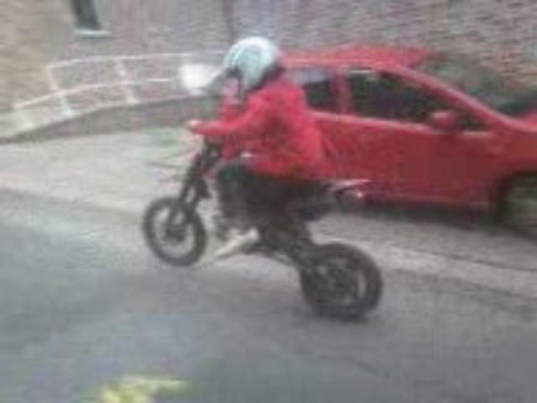 borys et sa nouvelle moto (viper)