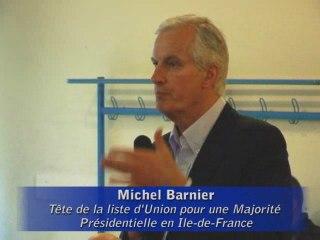 Michel Barnier à la rencontre de la communauté arménienne