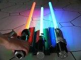 Collection Sabres Laser Force FX Master Replicas (Star wars)
