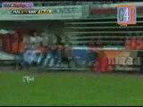 MALLORCA 2-1 FC BARCELONE CLEBER  CHAMPION D'ESPAGNE 08/09