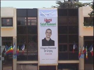 Salah Hamouri Citoyen d'honneur