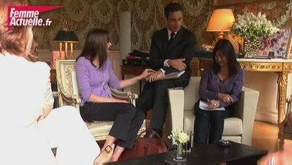 Nicolas Sarkozy : visite surprise à Femme Actuelle