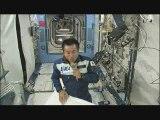 Koichi Wakata tapis volant