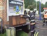 Fourmies - une maison détruite dans un incendie