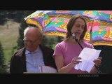 Walter Bassan et Viviane Bouvier  Glières 17 mai 2009