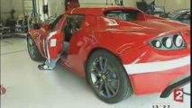 Tesla Roadster - Reportage FR2 du 20/05/2009