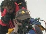Sir Ranulph Fiennes climbs Mount Everest