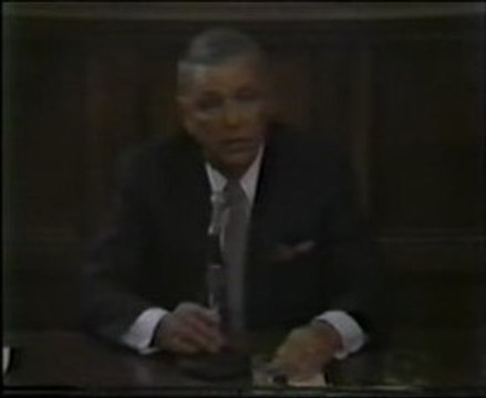 Frank Sinatra - Yale Conference, April 15th - 1986