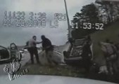 La Police massacre 1 accidenté inconscient, bavure extrême !