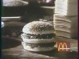 Pub Big Mac Mc Donald 80's