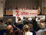 Dupont Aignan Europe sociale - Attac européennes 09