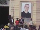 Salah hamouri citoyen d'honneur a grigny