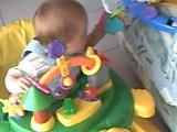 Mon fils dans le youpala