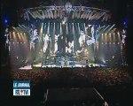 Johnny Hallyday derniers concerts à Bruxelles.