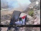 Heurts entre soldats et manifestants en Cisjordanie