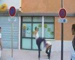 Street bench delire en music