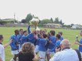 Finales coupes de district Gironde Est 2009