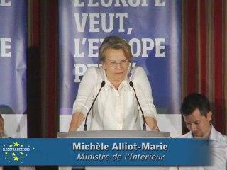 Discours Michelle Alliot-Marie (Saint Mandé)