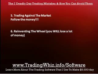 7 Deadly Day Trading Mistakes And How To Avoid Them